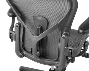Lumbar support for the best chair for back pain