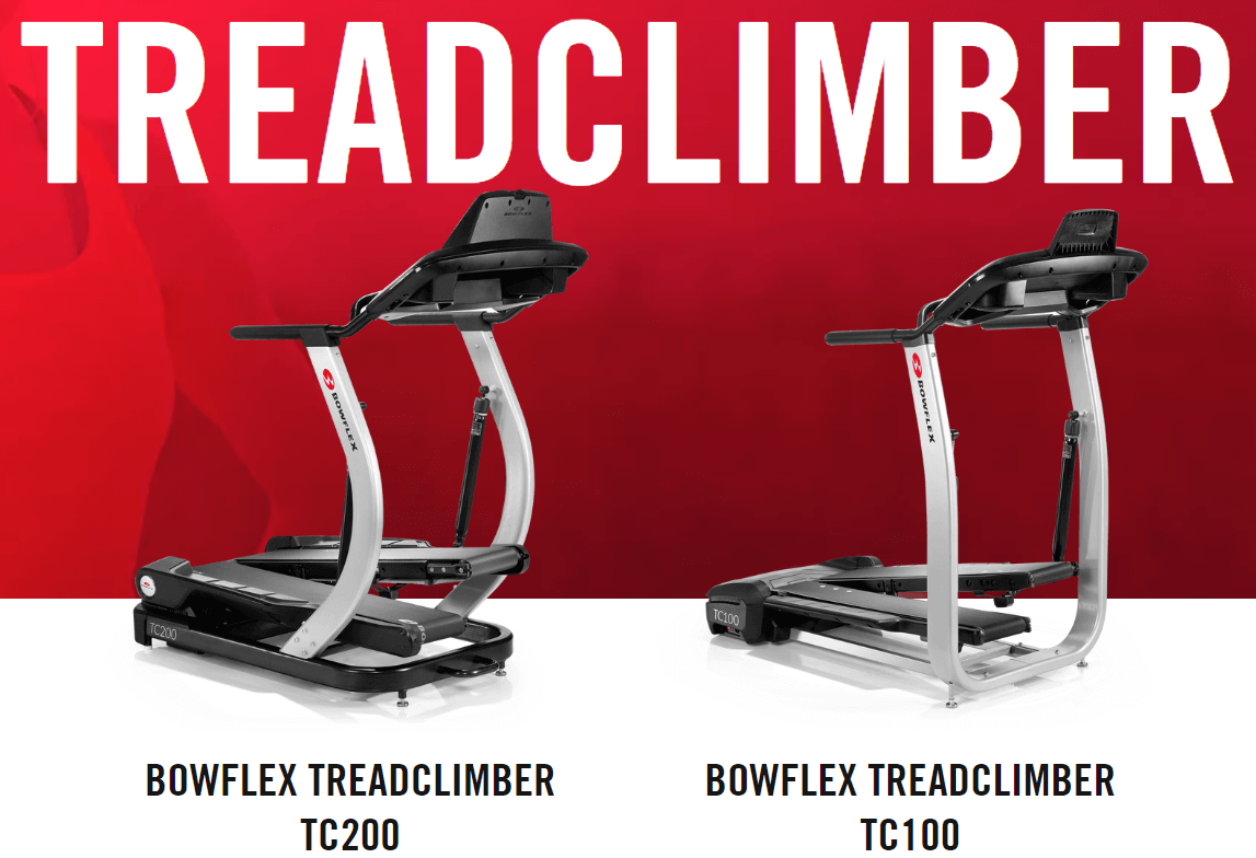 Bowflex Treadclimber Machine