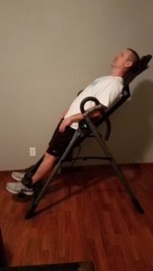 How to use an inversion table properly