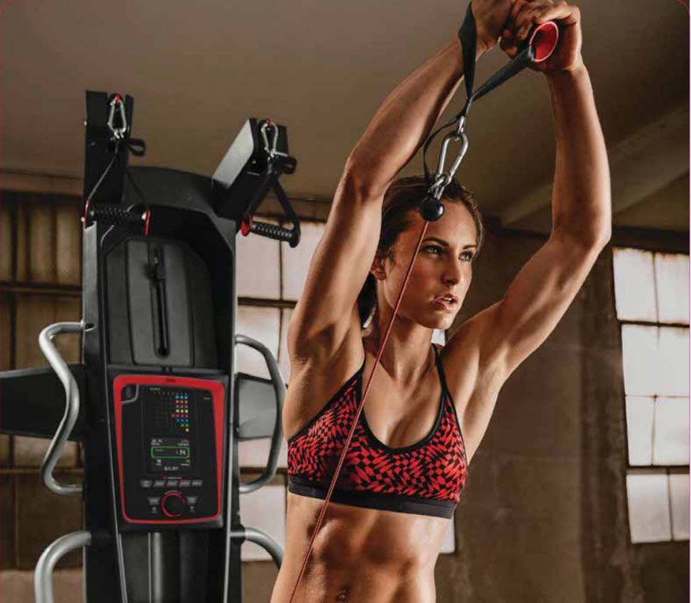 Bowflex HVT workouts