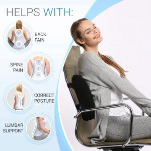 Everlasting Comfort Lumbar Support Illustration