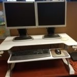 Ergotron WorkFit TL Sit Stand Desktop Workstation Review
