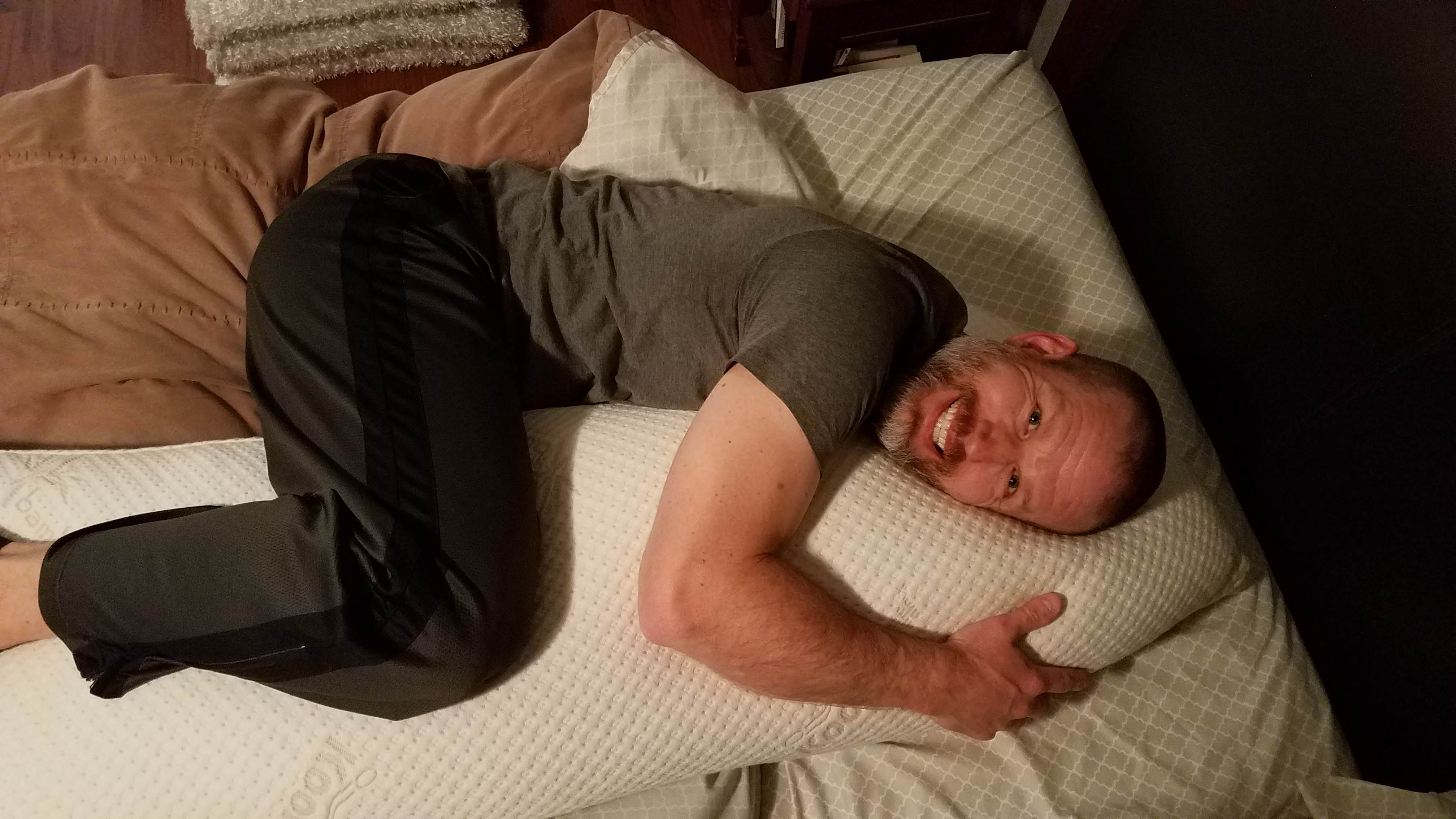 I Bought a Body Pillow for Back Pain and You Should Too