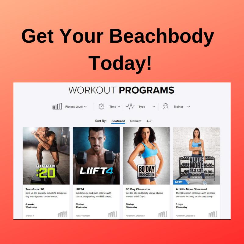 Get your beachbody today