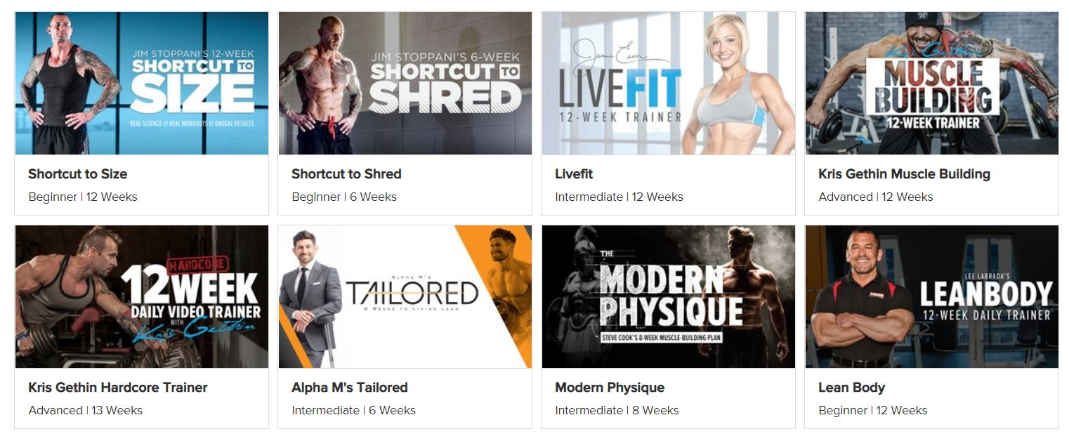 Bodybuilding.com all access free trial