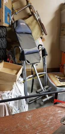 A used inversion table