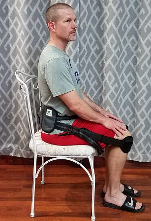 I am uing my BetterBack posture corrector