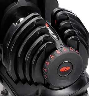 Bowflex Adjustable dumbbell weights