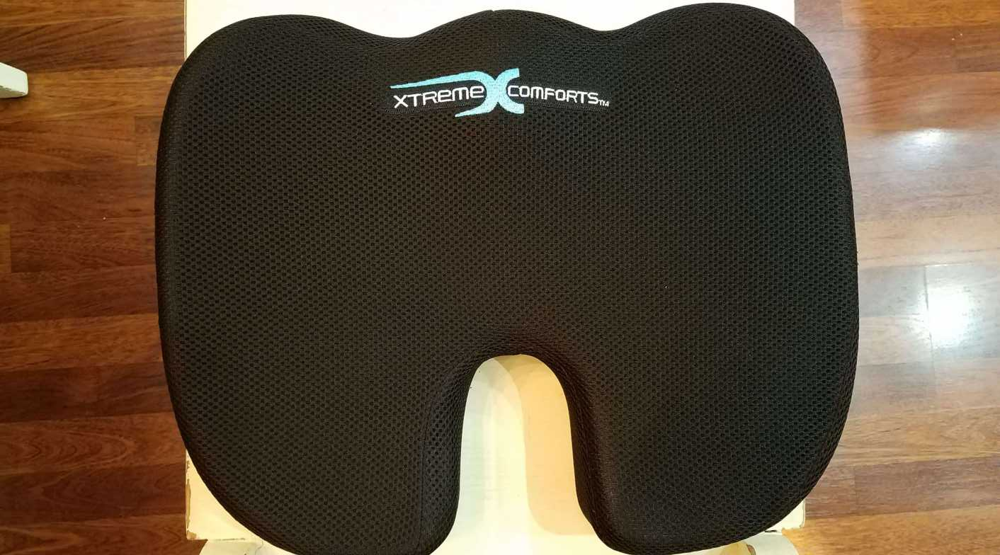 Xtreme comforts coccyx cushion