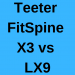 Teeter FitSpine X3 vs LX9